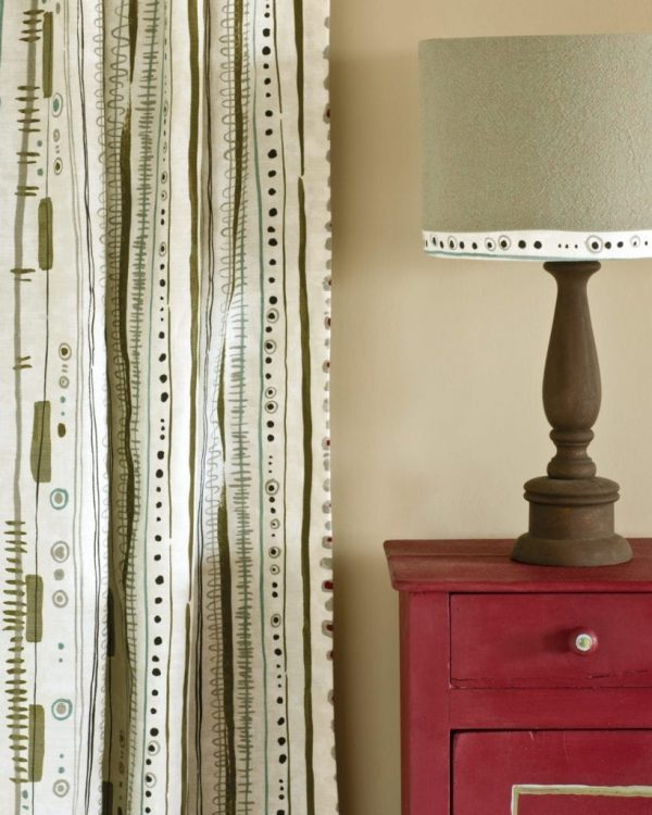 Burgundy-side-table-Piano-in-Olive-curtain-Linen-Union-in-Coco-Duck-Egg-Blue-lampshade