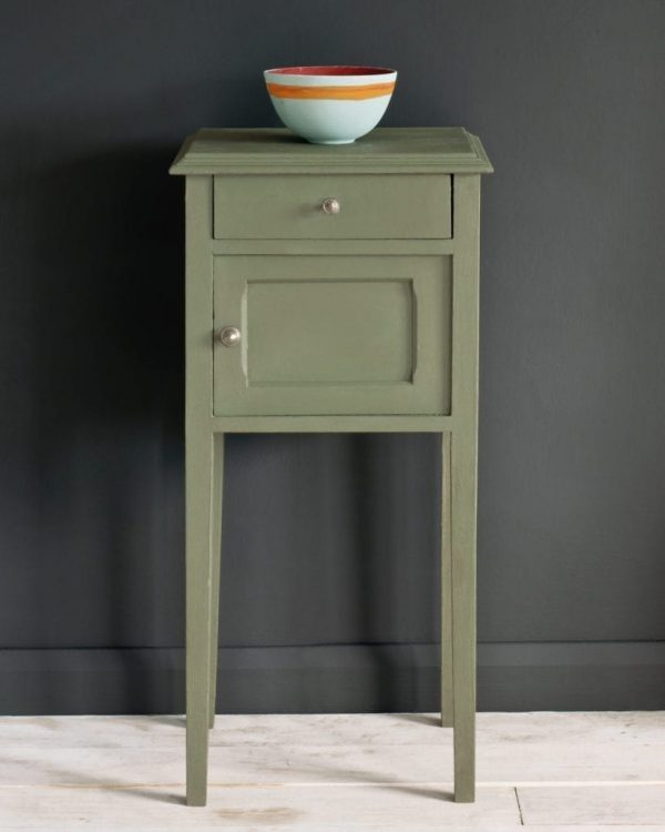 Chateau-Grey-Chalk-Paint-side table