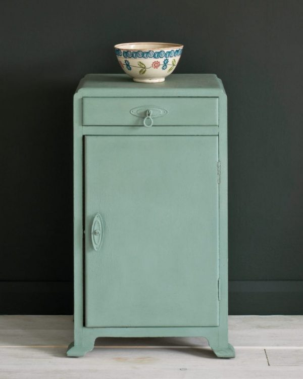 Duck-Egg-Blue-side-table-Graphite-Wall-Paint-