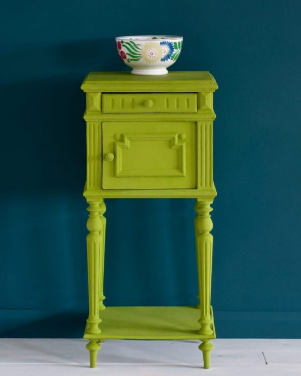 Firle-side-table-Aubusson-Blue-Wall-Paint