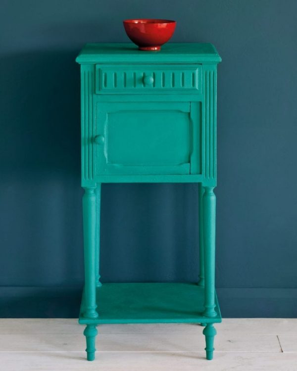 Florence-side-table-Aubusson-Blue-Wall-Paint