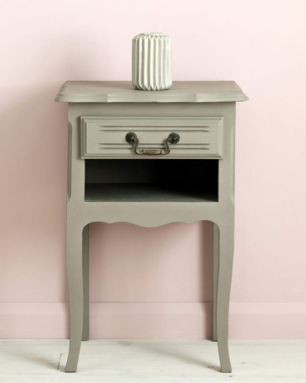 French-Linen-side-table-Antoinette-Wall-Paint-