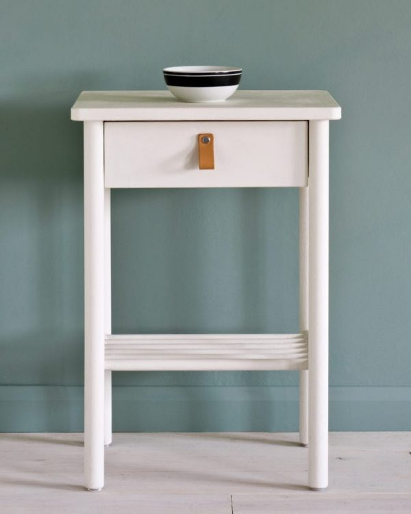 Old-White-side-table-Duck-Egg-Blue-Wall-Paint-