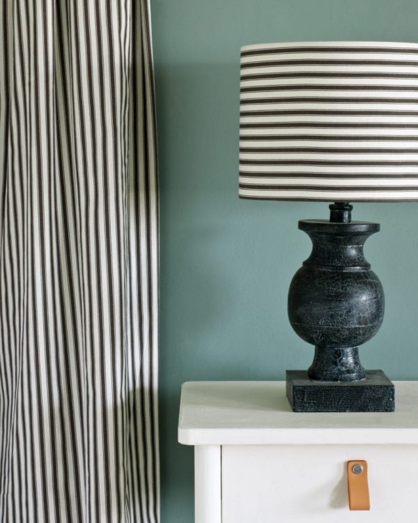 Old-White-side-table-Ticking-in-Graphite-Duck-Egg-Blue-Wall-Paint