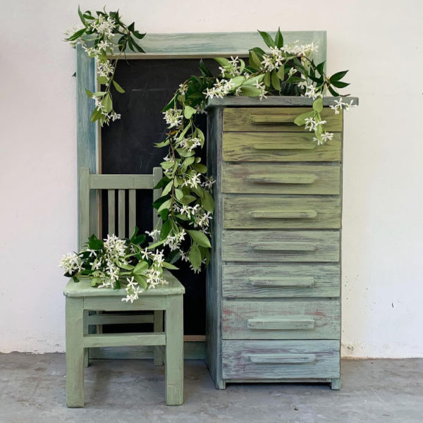 green-small-chest-of-drawers