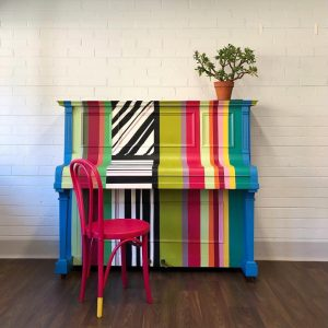 rainbow piano transformation after