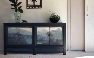 Misty Mountains sideboard